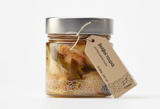 PICKLED EDIBLE BULBS