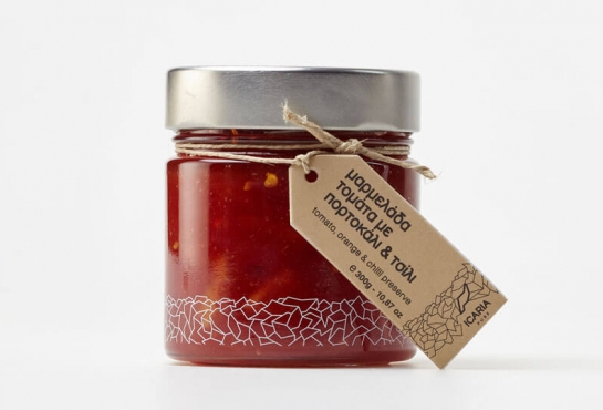TOMATO, ORANGE & CHILLI PRESERVE