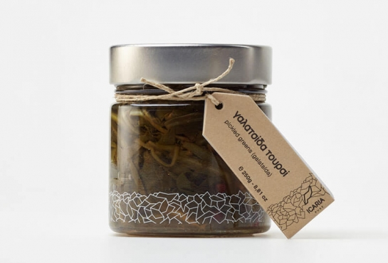 GALATSIDA (pickled wild greens)